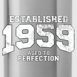 established 1959 - aged to perfection (uk) Tops - Water Bottle
