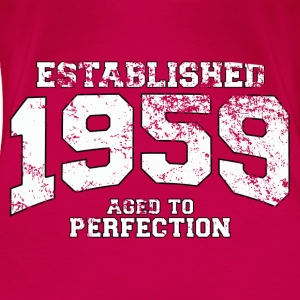 established 1959 - aged to perfection (nl) Tops - Vrouwen Premium T-shirt