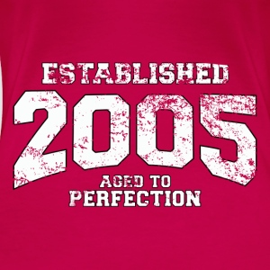 established 2005 - aged to perfection (uk) Tops - Women's Premium T-Shirt