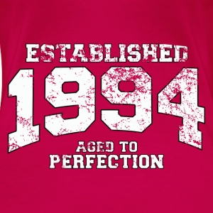 established 1994 - aged to perfection (nl) Tops - Vrouwen Premium T-shirt