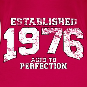 established 1976 - aged to perfection (no) Topper - Premium T-skjorte for kvinner