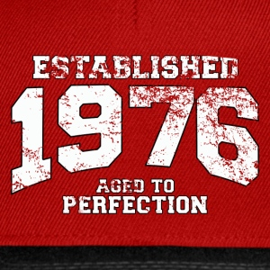 Geburtstag - established 1976 - aged to perfection - Snapback Cap