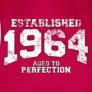 established 1964 - aged to perfection (uk) Tops - Women's Premium T-Shirt