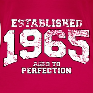 established 1965 - aged to perfection (uk) Tops - Women's Premium T-Shirt