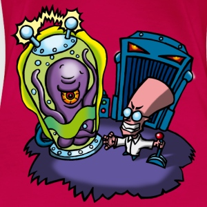 Mad Scientist Toppe - Dame premium T-shirt