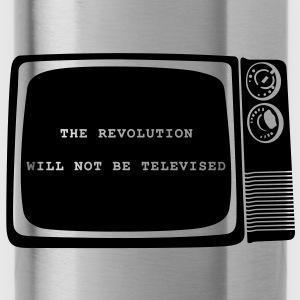 The revolution will not be televised - Water Bottle