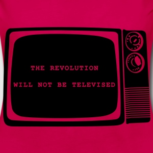 The revolution will not be televised - Women's Premium Longsleeve Shirt