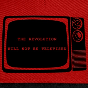 The revolution will not be televised - Snapback Cap