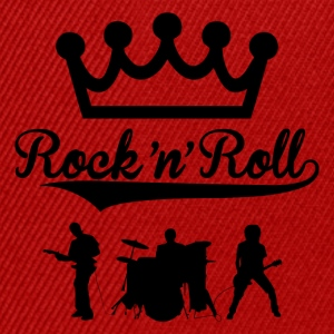 rock'n'roll band design 2 Tee shirts - Casquette snapback