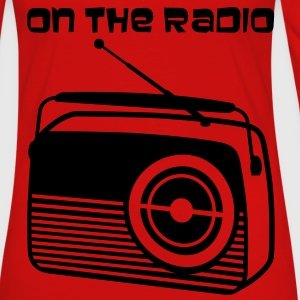 On the radio - Frauen Premium Langarmshirt