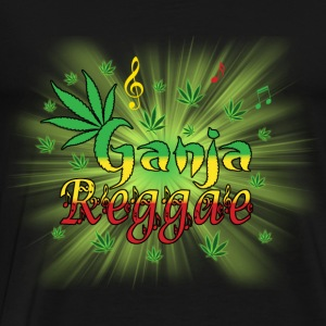 ganja reggae Tops - Men's Premium T-Shirt