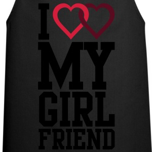 I love my Girlfriend T-Shirts - Cooking Apron