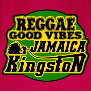 reggae good vibes kingston jamaica Tops - Women's Premium T-Shirt