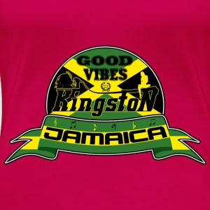 good vibes kingston jamaica Toppe - Dame premium T-shirt