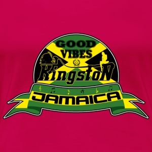 good vibes kingston jamaica Tops - Women's Premium T-Shirt