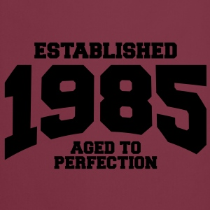 aged to perfection established 1985 (fr) Débardeurs - Tablier de cuisine