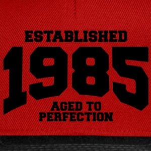 aged to perfection established 1985 (fr) Débardeurs - Casquette snapback