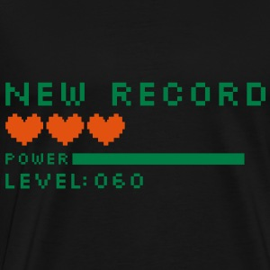 new record level 60 birthday design Geburtstag (uk) Tops - Men's Premium T-Shirt