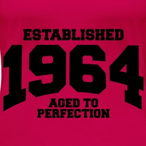 aged to perfection established 1964 (sv) Toppar - Premium-T-shirt dam