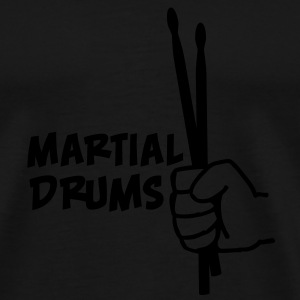 Martial Drums Tops - Men's Premium T-Shirt