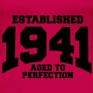 aged to perfection established 1941 (fr) Débardeurs - T-shirt Premium Femme