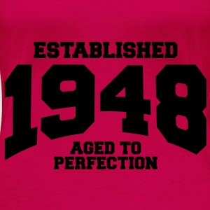 aged to perfection established 1948 (uk) Tops - Women's Premium T-Shirt