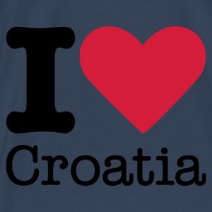I Love Croatia Tops - Men's Premium T-Shirt