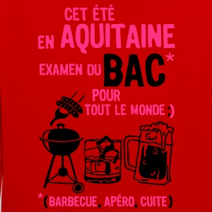 bac aquitaine barbecue apero cuite biere Tee shirts - Sweat-shirt contraste