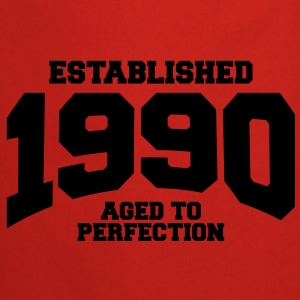 aged to perfection established 1990 (uk) Tops - Cooking Apron