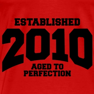aged to perfection established 2010 (uk) Tops - Men's Premium T-Shirt