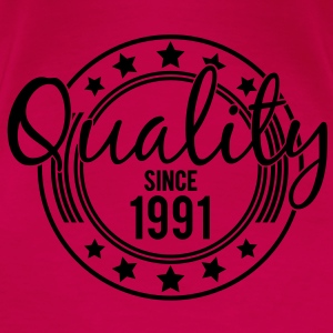 Birthday - Quality since 1991 (nl) Tops - Vrouwen Premium T-shirt