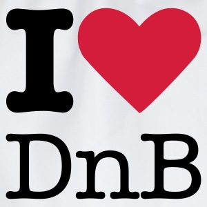 I Love DnB T-Shirts - Turnbeutel