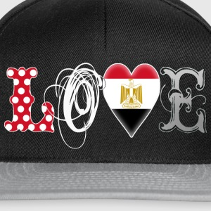 Love Egypt White Tops - Snapback Cap