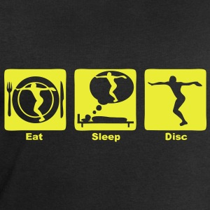 lancer disque disc eat sleep play  Tee shirts - Sweat-shirt Homme Stanley & Stella