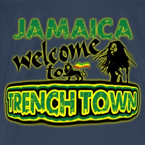 jamaica welcome to trench town Tops - Männer Premium T-Shirt