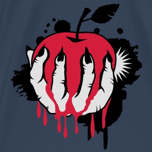 Witch's Claw with an apple as a graffiti Tops - Men's Premium T-Shirt