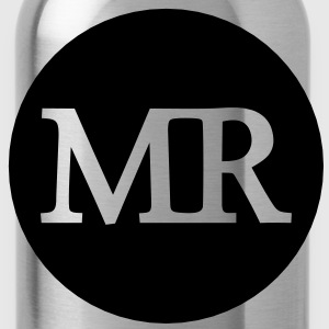 mr circle (1c) Tops - Water Bottle