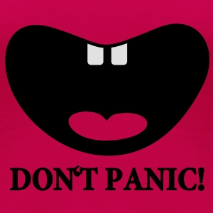don't panic (baby cry, 2c) Tops - Frauen Premium T-Shirt