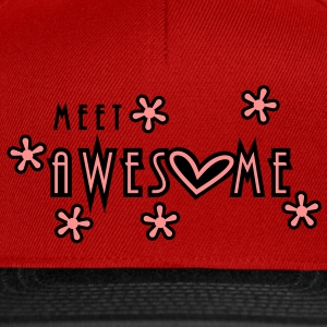 meet awesome (2c) Tops - Snapback Cap