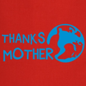 Thanks Mother, c, T-Shirts - Cooking Apron