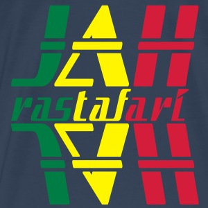 jah rastafari Tops - Men's Premium T-Shirt