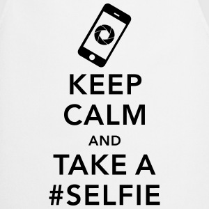 funny Keep calm take a selfie #selfie meme phone Sweat-shirts - Tablier de cuisine