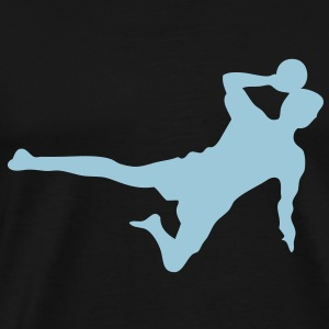 tchoukball silhouette ombre shadow1 Tee shirts - T-shirt Premium Homme