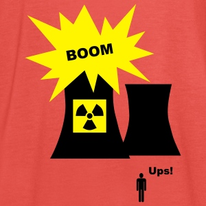 nuclear energy, T Shirt - Women's Tank Top by Bella