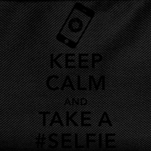 funny Keep calm take a selfie #selfie meme phone Tee shirts - Sac à dos Enfant