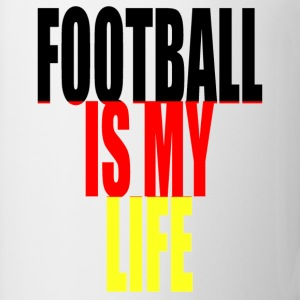 football is my life allemagne Tee shirts - Tasse