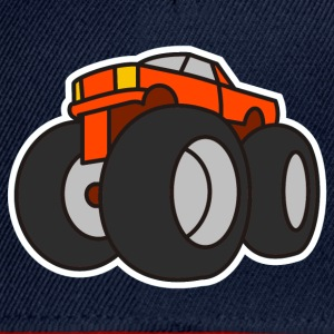 Digital - Extreme Monster Truck Sport Hot Cars Damage Jeep Cross Pickup Van Toppar - Snapbackkeps