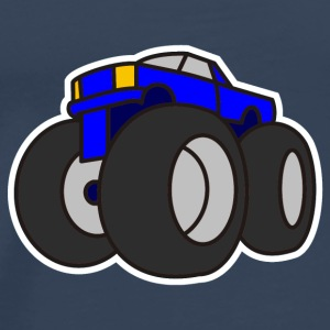 Digital - Extreme Monster Truck Sport Hot Cars Damage Jeep Cross Pickup Van Tops - Mannen Premium T-shirt