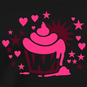 cupcake / Muffin (b, 2c) Tops - Men's Premium T-Shirt