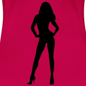 Model, Woman - Women's Premium T-Shirt